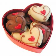 Czekoladki w kształcie serca